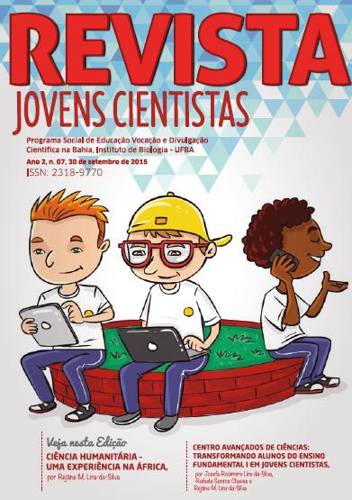 Revista Jovens Cientistas, Ano 2, n. 7, Setembro de 2015