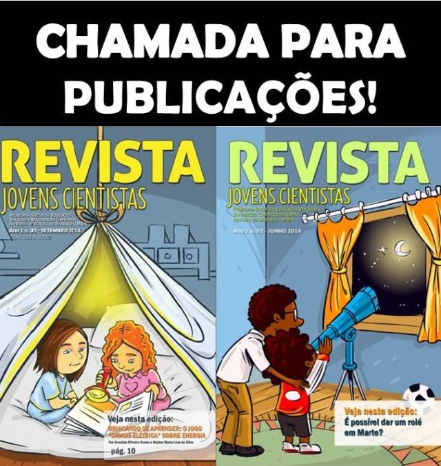 CHAMADA PUBLICAÇÃO 1